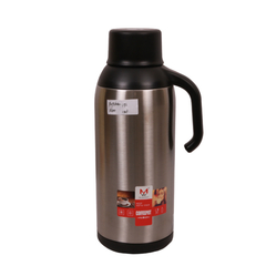 Transull 1.9L Stainless Steel Thermos Flask Coffee Pot Water Kettle With Glass Liner (FWH6030-1.9L) sliver