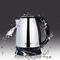 Transull Scarlett Electric Heat Kettle 2.0 Litres Silver/Black(SC1818) as picture 2.0L