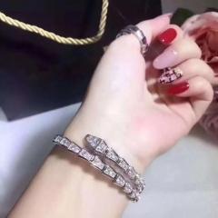 High quality wedding  jewelry women's bangle&bracelet/wedding jewelry silver one size