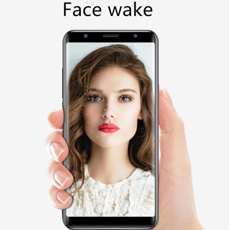 New mobile phone X21 6.1 Inch  4GB+64GB Full screen  8MP+16MP Smart phone Doule SIM card blue 10