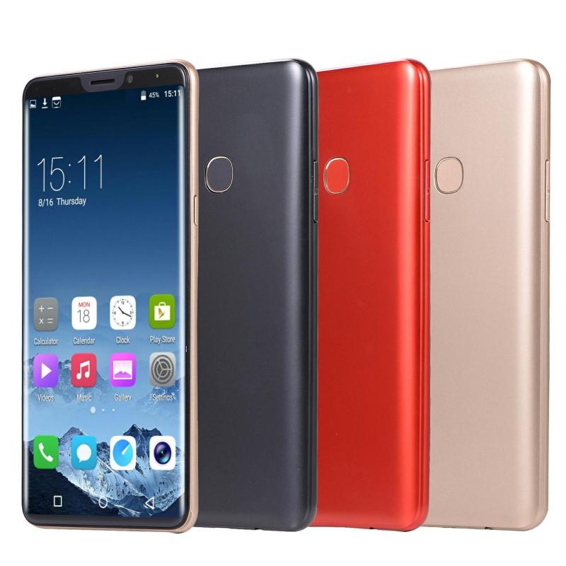 New mobile phone X21 6.1 Inch  4GB+64GB Full screen  8MP+16MP Smart phone Doule SIM card blue 2