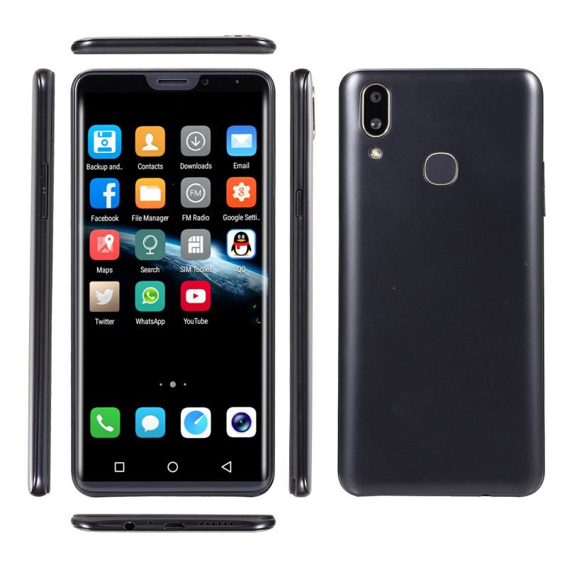 New mobile phone X21 6.1 Inch  4GB+64GB Full screen  8MP+16MP Smart phone Doule SIM card blue 4