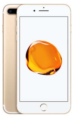 Certified Refurbished iPhone 7 plus - 32GB + 2GB -12 MP+7MP- 5.5 Inch+ 4 nuclear + 99% new gold