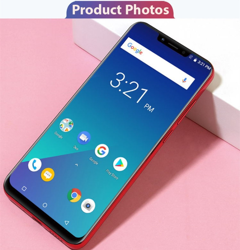 New mobile phone HS9+ 6.18Inch 3+32GB Powrrful 5000mAh 13+5MPbeauty camera Smart phone android 8.1 lake blue 15