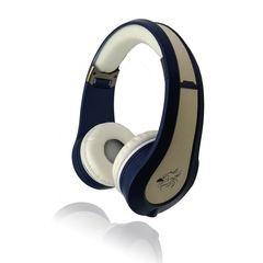 2008 Fashion New Hot Selling Intelligent Outdoor Business Sports Folding Headphones blue+white