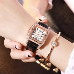New model Fashion DZG watches women Non-mechanical Hollow Stainless Quartz Watch for smartwatch black one size