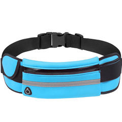 HiDook Kettle Pockets Men Women Outdoor Sports  Running Waterproof Anti-theft Mobile Phone Pockets sky blue one size