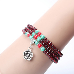 HiDook Classic Fashion Lucky Colorful Beaded Bracelets Men Women Bracelet  Girl Boy Friend Gifts Random delivery 1 pcs