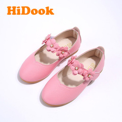 HiDook Kids Casual Sneakers Children Loafers Toddler Shoes with Flower Girl Dance Princesses Dress pink 21