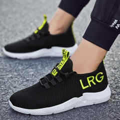 Men Running Shoes Man Gym Sport Sneakers Male School Lover Shoe Casual Lightweight Athletic Big Size Black Yello 44