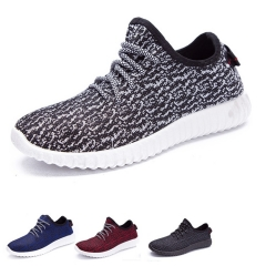 Men Running Shoes Light Sport Women Lovers School Fashion Sneakers Breathable Lady Athletic Big Size Black White 38