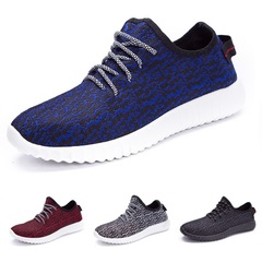 Men Running Shoes Light Sport Women Lovers School Fashion Sneakers Breathable Lady Athletic Big Size Black Blue 44