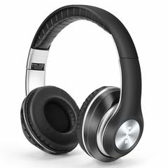 Wireless Bluetooth Headphone Sports Foldable Earphone Headset Microphone Stereo Bass Samsung Iphone Black