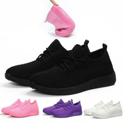 Lady Sport Shoes Fitness Athletic Sneakers Women Running Gym Light Casual Soft Woman Big Small Size Black 41