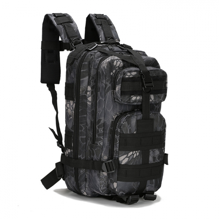 Waterproof Outdoor Sport Portable Backpack Durable Easy to Carry Large  Volume Oxford Fabric Material Snake 20x25x40cm 62a53ff36847a