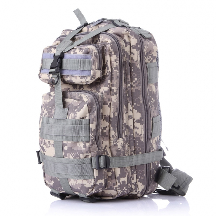 Waterproof Outdoor Sport Portable Backpack Durable Easy to Carry Large  Volume Oxford Fabric Material ACU Camouflage 0bf3fffa1442b