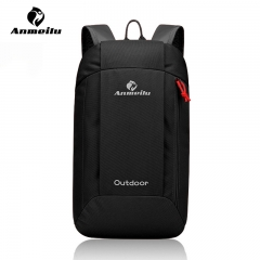 Anmeitu Waterproof Outdoor Portable Backpack Travel Backpack Light and Durable Easy to carry Black 41cm*23cm*15cm