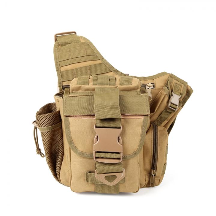 f52ecaebb1e Men s Military Tactical Bag,Army Sport Shoulder Bag,Outdoor Hiking Travel  Climbing Backpacks Khaki