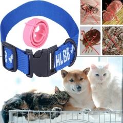 4pcs/2pcs Anti Flea Pet Collars Adjustable Anti-mosquito And Tick Dog Cat Collars 2pcs Cat/Puppy Collars