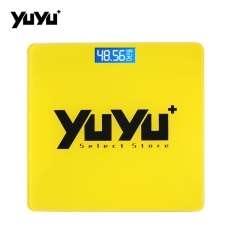 YUYU electronics Weighing Scale Household Human Body Scale Health human body Tempered Glass Scale As Show