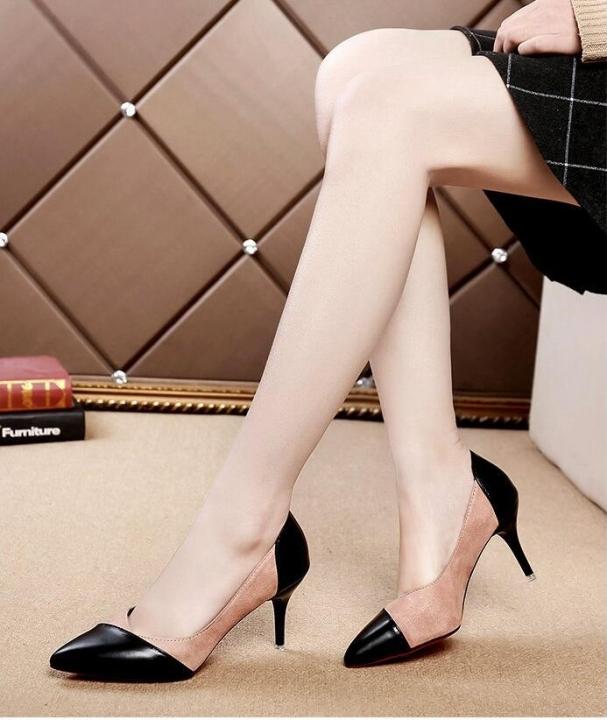 03a013a84a4 Woman High Heels Women Shoes Pumps Stilettos Shoes For Women Black High  Heels pink 34