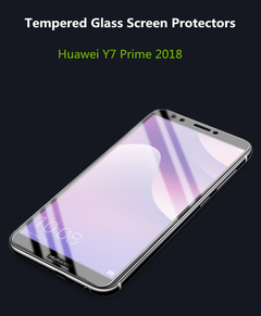 2pcs/set Huawei Y7 Prime(2018) 3+32GB-5.99MP-Dual SIM-Smartphone Tempered Glass Sceen Protectors Highly Transparent Normal