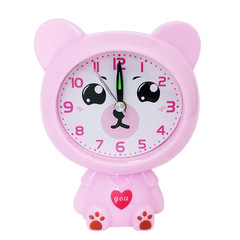 Cartoon Table Alarm Clock Battery Backside Desk Table Home Decor Kid Gifts Christmas Gift