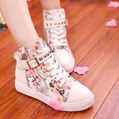 Kztown Women Low Heel Shoes Fashion Boots Flat Shoes Casual Sneakers pink 40