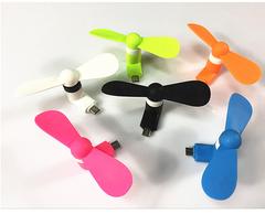 Portable Flexible Mini Fan For Andorid Phone random color
