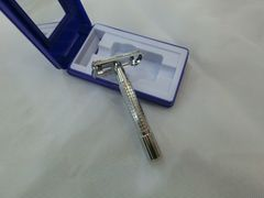 Men Razor Blade Shaver Comfortable Convenience Suit Double Edge Blade Easy to carry One Size as picture as picture