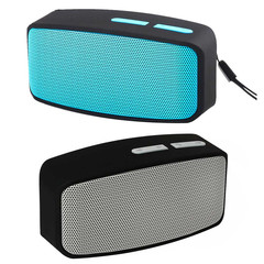 Dual Speaker Mini Portable Wireless Bluetooth Speaker Subwoofer Stereo Music Sound Box Witn Mic grey 3w mini wireless speaker