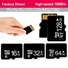 Factory Direct Memory Card Micro sd 128GB 64GB 32GB 16GB 8 1 2 4 GB TF SDXC SDHC Micro sd Card black A0030 1gb sd / tf card