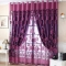 Damai 100*250cm Lotus Tulle Voile Sheer Door Window Curtains Drapes Room Divider Scarf Curtain purple 1