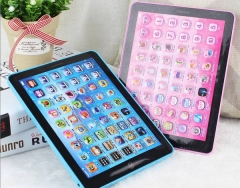 Damai Kids Table Children's point of time machine baby puzzle tablet computer ipad learning machine blue 1