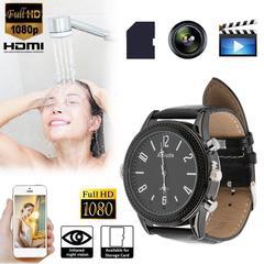 1080P HD Wrist Watch Hidden Wifi Camera Spy Video Recorder Night Vision DVR