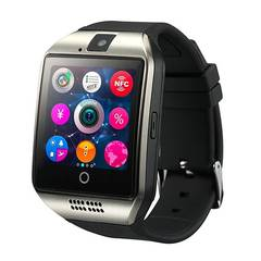 Dama Q18 Smart watch with Touch Screen camera TF card Bluetooth smartwatch for Android IOS Phone black 1