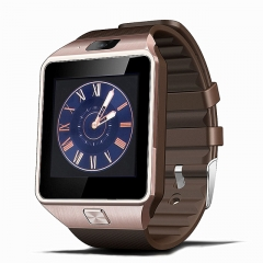 Newest Smart Watch Clock With Sim Card Slot Push Message Bluetooth Connectivity Android Phone rose 1.56inch