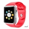 A1 WristWatch Bluetooth Smart Watch Sport Pedometer With SIM Camera Smartwatch For Smartphone red 1.54inch
