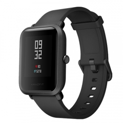Amazfit Bip Smart Watch Huami GPS Smartwatch Android iOS Heart Rate Monitor 45 Days Battery IP68 black 1.28inch