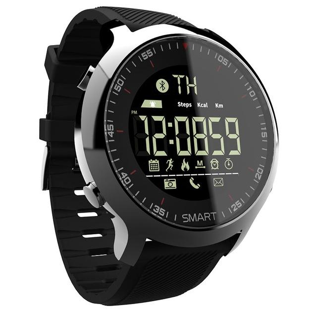Newest Sport Watch Bluetooth Waterproof Men Smart Watch Digital Ultra-long Standby SmartWatch Clock black 1.3inch