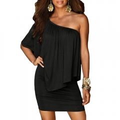 Army green Slash Neck Women Dress Summer Style Off Shoulder Sexy Dresses Vestidos Beach Casual Dress s black