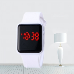 Fashion Men Sport Casual LED Watches Men Digital Clock Man Army Military Silicone Wrist Watch Clock white one size