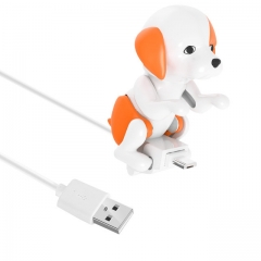 USB Dog Cable Charger for iPhone 6 7 8 X Charge Rascal Dog Date Cable Charger Micro USB / IOS Ports A one size