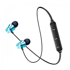 Wireless Headphone Bluetooth Earphone For Phone Neckband sport earphone Auriculare CSR Bluetooth blue
