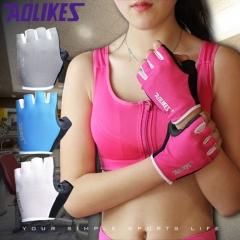 Women/Men Training Gym Gloves Body Building Sport Fitness Gloves Exercise Weight Lifting Gloves Men a s