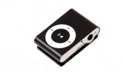 NEW Big Portable MP3 Mini Clip MP3 Player waterproof sport mp3 music player walkman lettore mp3 black