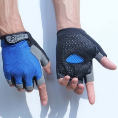 Half Finger GEL Gloves for Men Women Gym Fitness Weight Lifting Building Workout Running Exercise a m