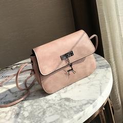 Women Messenger Bags High Quality Cross Body Bag PU Leather Mini Female Shoulder Bag Handbags pink 20*15*7