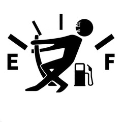 Funny Car Stickers High Gas Consumption Decal Fuel Gage Stickers Car Stickers Car Styling