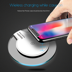 QI Wireless Charger for Samsung Galaxy suntaiho S8 S9 more Fashion Cradle Charger black one size